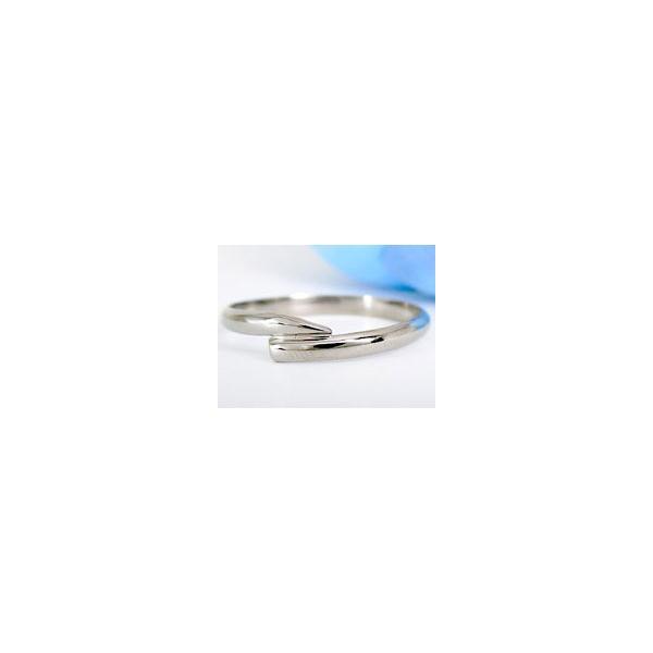 ストレート マリッジリング 甲丸 結婚指輪 ペアリング ダイヤモンド ホワイトゴールドK18 結婚式 18金 ダイヤ 2.3 メンズ レディース 宝石