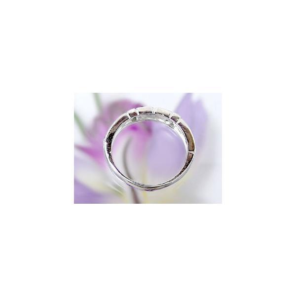 ピンキーリング 指輪 プラチナリング ダイヤモンド リング 一粒 ダイヤモンドリング ダイヤ ストレート 母の日