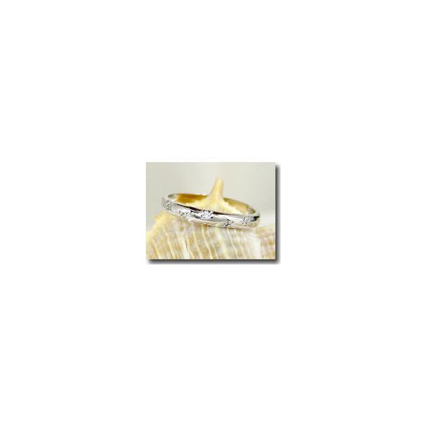甲丸 ペアリング マリッジリング 結婚指輪 ホワイトゴールドk10 10金 ストレート カップル 2.3  プレゼント 女性 母の日
