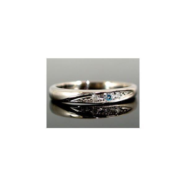 結婚指輪 安い ペアリング プラチナ ダイヤモンド 結婚指輪 リング マリッジリング 指輪 ブルー 結婚式 ダイヤ ストレート カップル  女性 母の日
