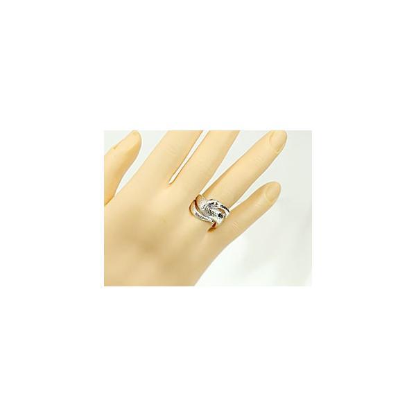 ピンキーリング 蛇 スネーク リング サファイア プラチナ 指輪 9月誕生石 宝石 母の日