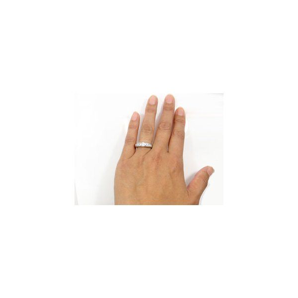 鑑定書付 ペアリング ダイヤモンド 結婚指輪 マリッジリング ホワイトゴールドk18 VS 結婚式 ダイヤ 18金 ストレート カップル 母の日