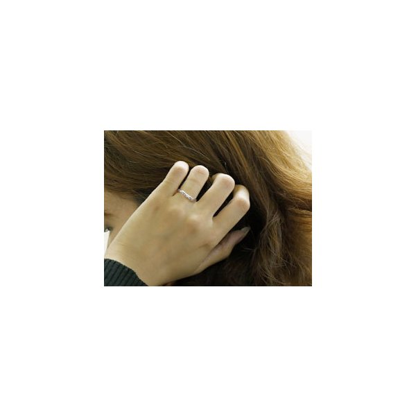 結婚指輪 安い ペアリング プラチナ マリッジリング ダイヤモンド ダイヤ 結婚式 カップル  プレゼント 女性 送料無料|atrus|02
