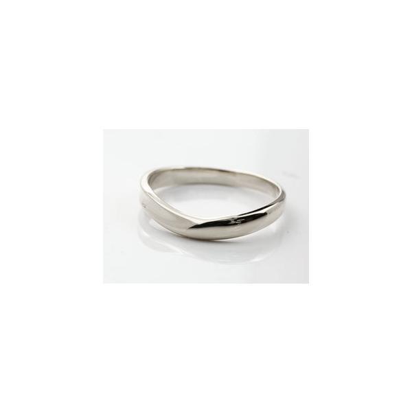 結婚指輪 安い ペアリング プラチナ マリッジリング ダイヤモンド ダイヤ 結婚式 カップル  プレゼント 女性 送料無料|atrus|06