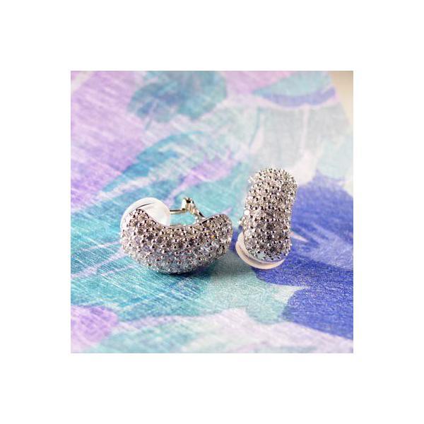 ピアス ダイヤモンド ホワイトゴールド イヤリング兼用 ダイヤピアス ダイヤ 18金 宝石 母の日