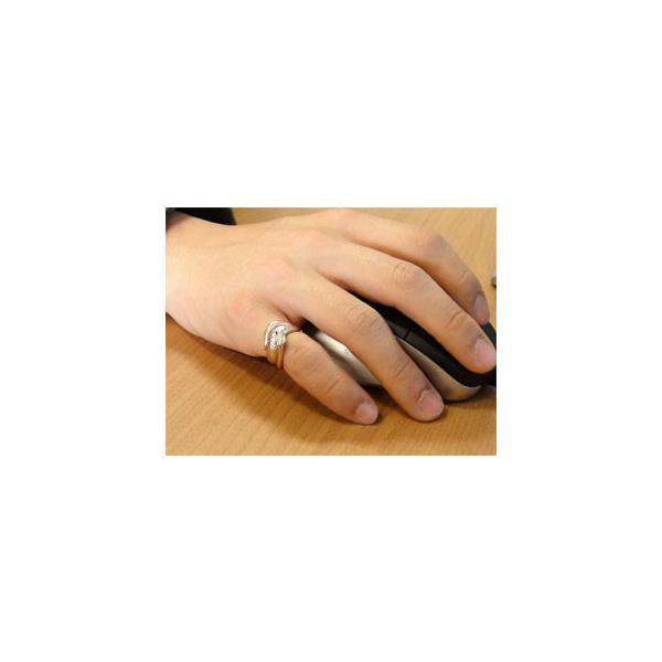 ダイヤモンド ピンクゴールドK18 スネーク 蛇 エンゲージリング 婚約指輪 18金 ダイヤモンドリング ダイヤ スリーストーン 宝石 秋 冬 クリスマス 女性