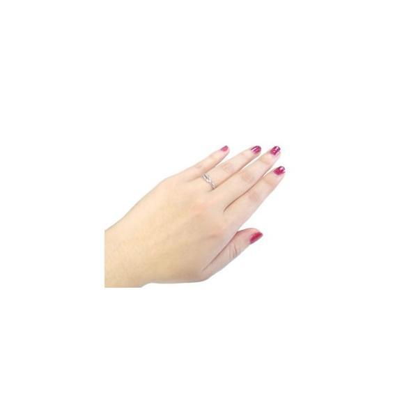 マリッジリング 結婚指輪 ペアリング シルバー キュービックジルコニア ストレート カップル メンズ レディース クリスマス 女性