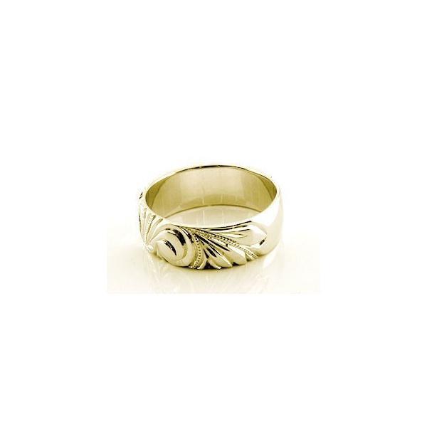ハワイアン ペアリング 人気 結婚指輪 ピンクトルマリン ダイヤモンド 幅広 イエローゴールドk18 18金 k18yg ダイヤ ストレート カップル 宝石 母の日