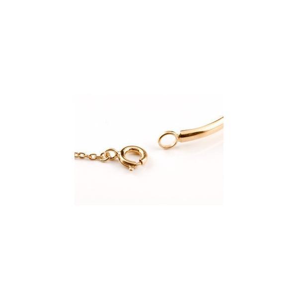 18金 ブレスレット  エメラルド 一粒 ピンクゴールドk18 シンプル レディース 5月誕生石  宝石 クリスマス 女性