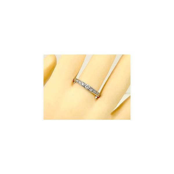 マリッジリング 結婚指輪 ペアリング 一粒ダイヤモンド ホワイトゴールドk18 結婚式 18金 ダイヤ ストレート カップル メンズ レディース クリスマス 女性