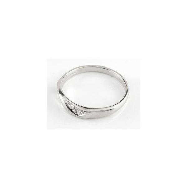 ピンキーリング キュービックジルコニア リング 婚約指輪 エンゲージリング シルバー ストレート クリスマス 女性