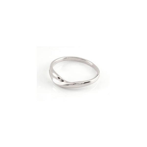 結婚指輪 ペアリング プラチナ ダイヤモンド V字 ウェーブリング|atrussun|04