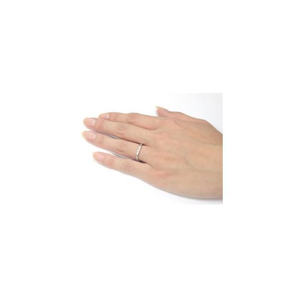 ペアリング プラチナ 結婚指輪 ダイヤモンド マリッジリング ピンクゴールドk18 コンビリング 結婚式 18金 ダイヤ ストレート カップル クリスマス 女性