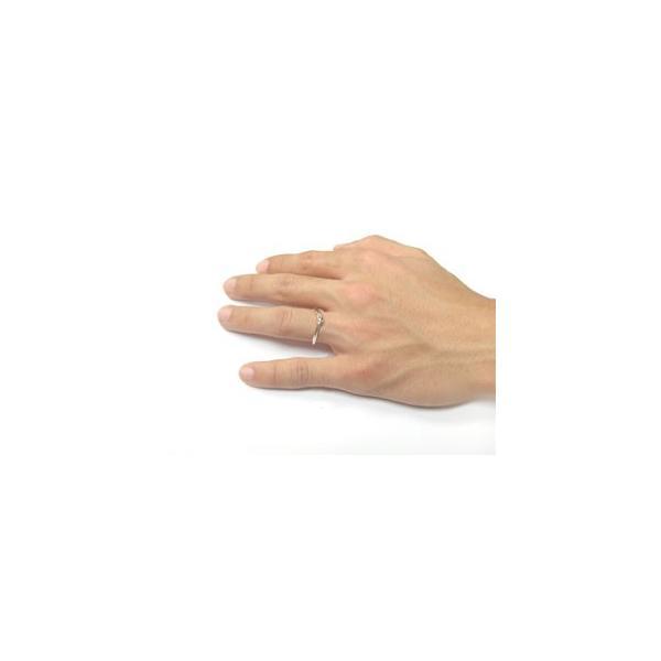 マリッジリング 結婚指輪 ペアリング ダイヤモンド ホワイトゴールドk18 結婚式 18金 ダイヤ ストレート カップル メンズ レディース クリスマス 女性