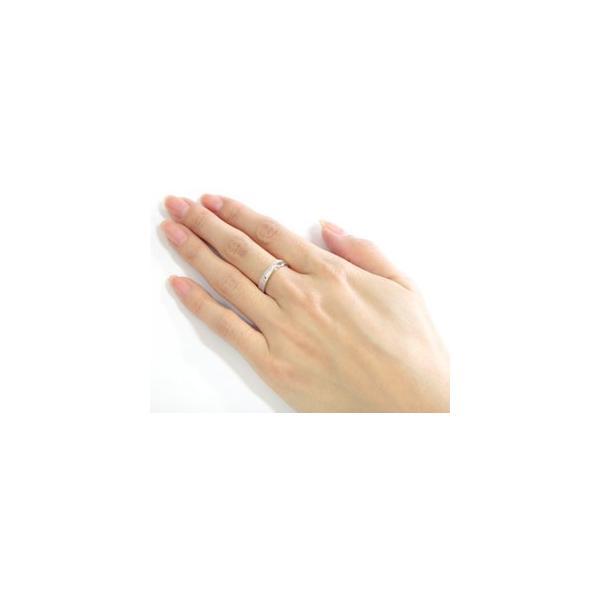ピンキーリング 婚約指輪 エンゲージリング ダイヤモンド エタニティ フルエタニティ ハードプラチナ950 ダイヤ ストレート クリスマス 女性