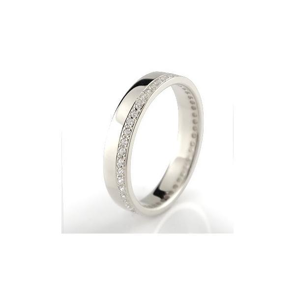 エンゲージリング プラチナ ダイヤモンド エタニティ 婚約指輪 フルエタニティ ダイヤ ストレート 宝石 クリスマス 女性