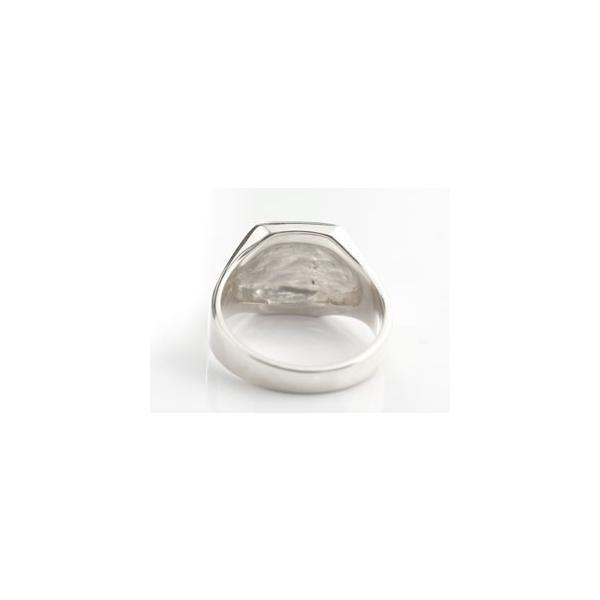 ピンキーリング ダイヤモンド 印台 リング 指輪 ダイヤ ホワイトゴールドk18 18金 ダイヤモンドリング ストレート クリスマス 女性