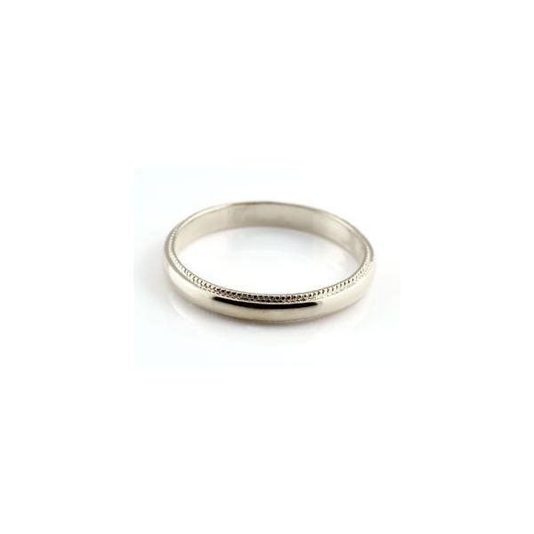ペアリング 人気 結婚指輪 マリッジリング 結婚式 ミル打ち イエローゴールドk10 ホワイトゴールドk10 甲丸 地金リング 宝石なし 10金 ストレート カップル 2.3