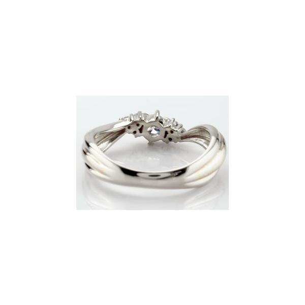 エンゲージリング プラチナ ダイヤモンド 鑑定書付き 婚約指輪 リング ダイヤ リング ストレート クリスマス 女性