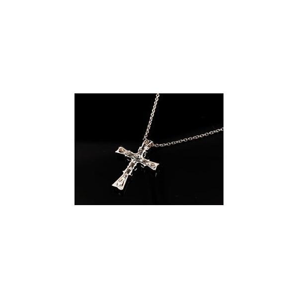 ペアネックレス ペアペンダント クロス ダイヤモンド ネックレス ペンダント ピンクゴールドk18 ホワイトゴールドk18 十字架 ダイヤ ダイヤ 18金 カップル