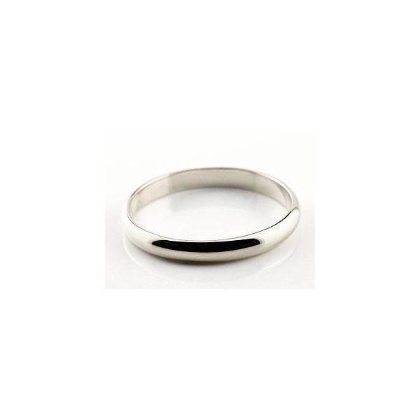 ストレート マリッジリング 甲丸 結婚指輪 ペアリング プラチナ ダイヤ ダイヤモンド ブルー 結婚式 カップル メンズ レディース 宝石 クリスマス 女性