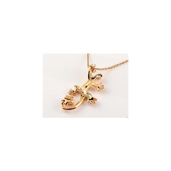 トカゲ ネックレス アクアマリン ブラックダイヤモンド ペンダント ピンクゴールドk18 18金 星 3月誕生石 レディース チェーン 人気 ダイヤ 宝石