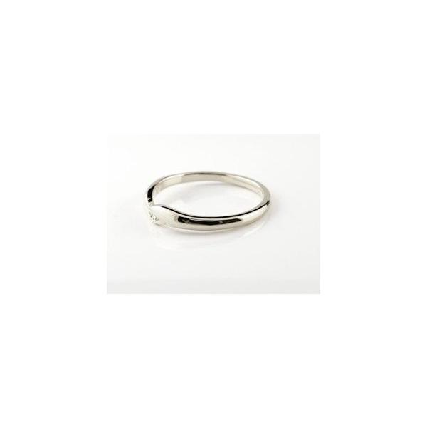 ペアリング ダイヤモンド 結婚指輪 マリッジリング ホワイトゴールドk18 シンプル つや消し 18金 ダイヤ ストレート スイートペアリィー  女性 送料無料|atrussun|02