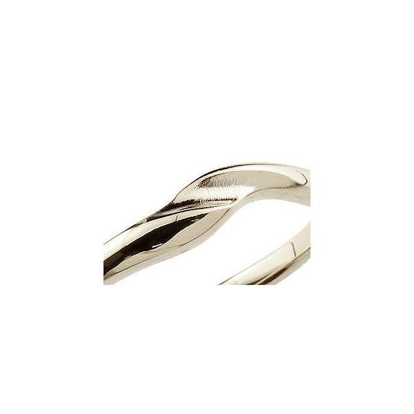 ペアリング ダイヤモンド 結婚指輪 マリッジリング ホワイトゴールドk18 シンプル つや消し 18金 ダイヤ ストレート スイートペアリィー  女性 送料無料|atrussun|04