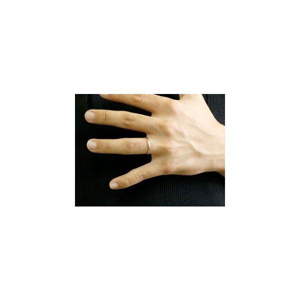 ペアリング 結婚指輪 マリッジリング 地金リング リーガルタイプ ホワイトゴールドk18 イエローゴールドk18 シンプル 18金 結婚式 ストレート カップル