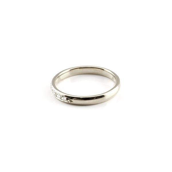 ピンキーリング ファランジリング ダイヤモンド プラチナ ミディリング 関節リング 指輪 甲丸リング pt900 レディース ネイルリング ダイヤ 4月誕生石