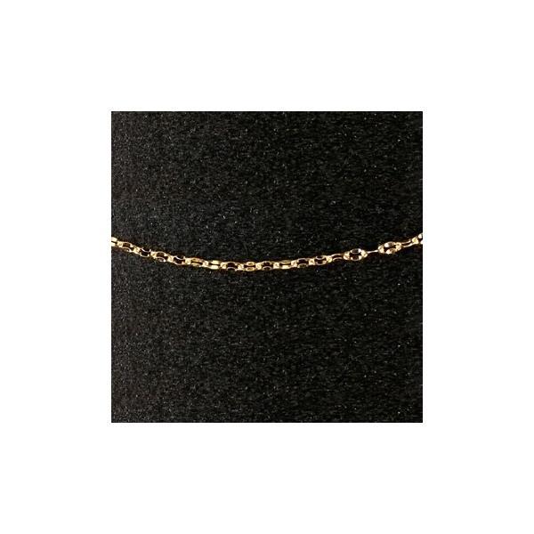 18金ネックレス ロングネックレス イエローゴールドk18 チェーン ペダルチェーン 鎖 レディース 70cm 地金