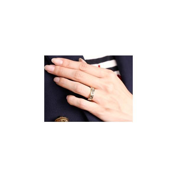 マリッジリング 結婚指輪 ペアリング 地金リング ホワイトゴールドk18 シンプル 結婚式 18金 宝石なし 人気 ストレート カップル メンズ レディース