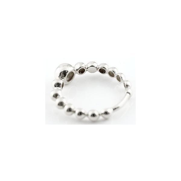 ピンキーリング ダイヤモンド プラチナリング 指輪 丸玉 ボールリング ダイヤ ダイヤモンドリング 一粒 pt900 レディース ストレート クリスマス 女性