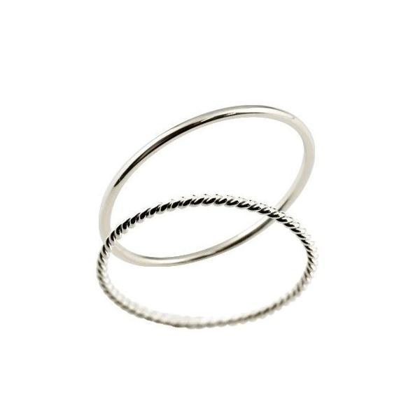 結婚指輪 マリッジリング ホワイトゴールドk18 スパイラル 18金 地金 ストレート 華奢 スイートペアリィー カップル  最短納期 クリスマス 女性