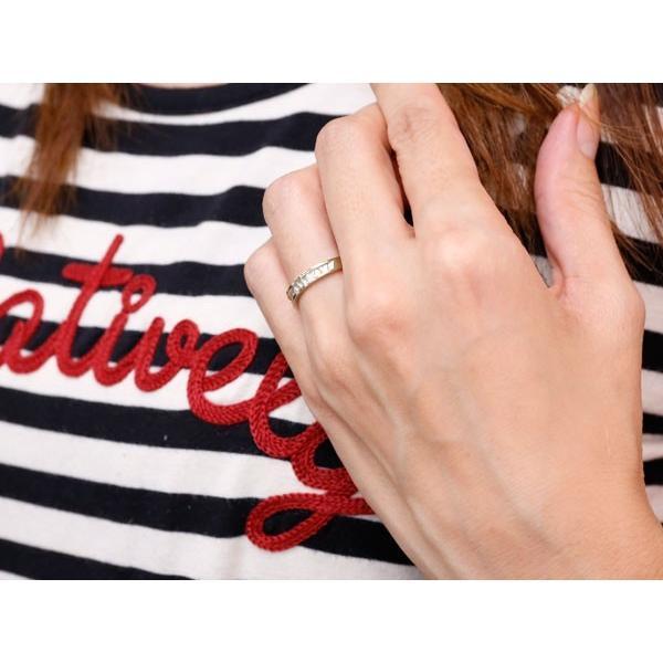 ピンキーリング 指輪 ホワイトゴールドk10 リング 地金リング 10金 つや消し シンプル 宝石なし レディース ストレート クリスマス 女性