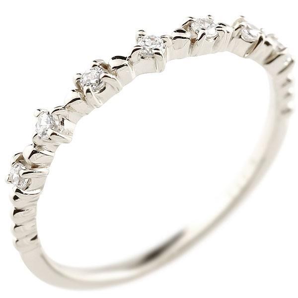 ピンキーリング シルバーリング キュービックジルコニア シンプル 指輪 華奢リング 重ね付け 指輪 細め 細身 sv925 アンティーク レディース クリスマス 女性