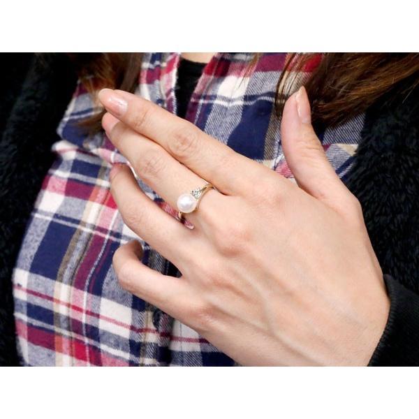 婚約指輪 安い パールリング 真珠 フォーマル エンゲージリング 婚約指輪  ダイヤモンド プラチナ900 リング  ダイヤ 指輪 宝石  クリスマス 女性