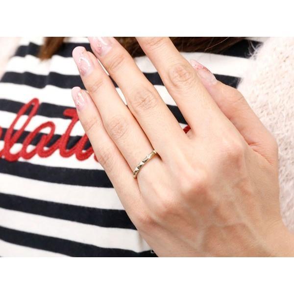 ペアリング マリッジリング 結婚指輪 ホワイトゴールドk18 ストレート カップル 18金 宝石なし 地金 メンズ レディース クリスマス 女性