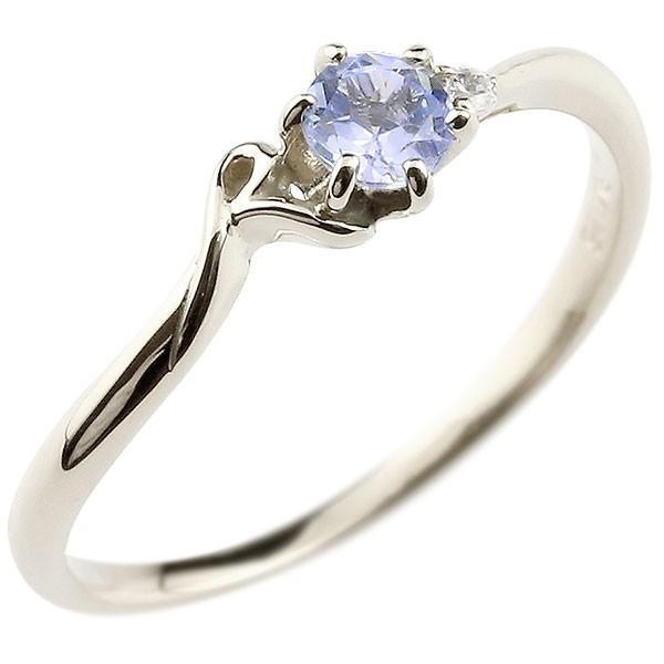 エンゲージリング イニシャル ネーム R 婚約指輪 タンザナイト ダイヤモンド ホワイトゴールドk18 指輪 アルファベット 18金 レディース 12月誕生石 人気