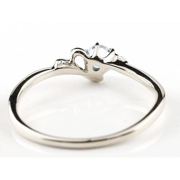 エンゲージリング イニシャル ネーム Y 婚約指輪 ブルームーンストーン ダイヤモンド ホワイトゴールドk10 指輪 アルファベット 10金 レディース 6月誕生石