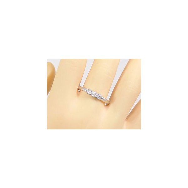 ピンキーリング プラチナリング 指輪 ダイヤモンド リング ダイヤモンド ダイヤモンドリング ダイヤ ストレート 2.3 クリスマス 女性