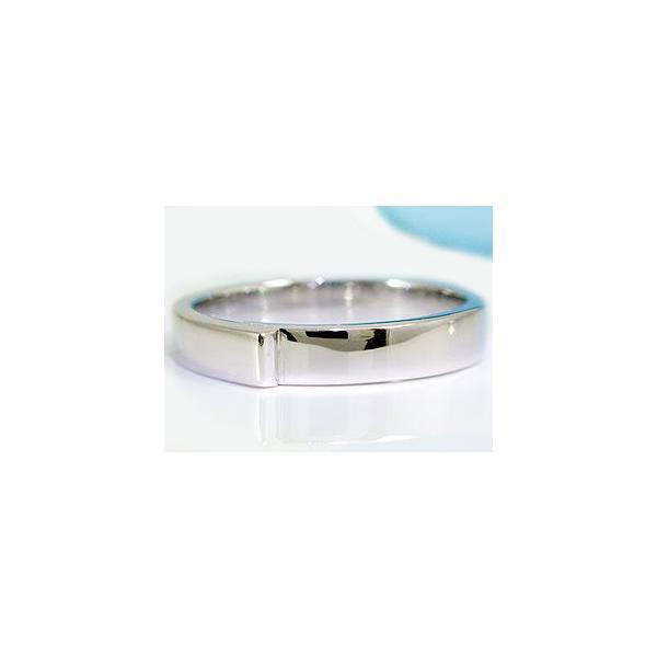 鑑定書付き ペアリング ダイヤモンド 結婚指輪 マリッジリング ホワイトゴールドk18 SI 結婚式 18金 ダイヤ ストレート カップル クリスマス 女性