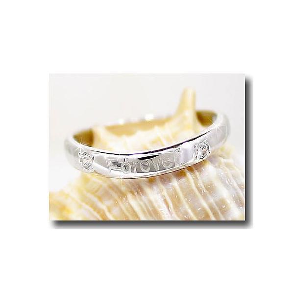 ピンキーリング 文字入れキュービックジルコニアシルバー925刻印指輪 クリスマス 女性