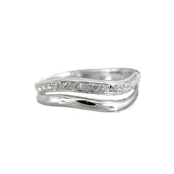 ダイヤモンド エタニティ エンゲージリング リング ホワイトゴールドK18 婚約指輪 エタニティリング ピンキーリング 指輪 18金 リング ダイヤ ストレート|atrussun