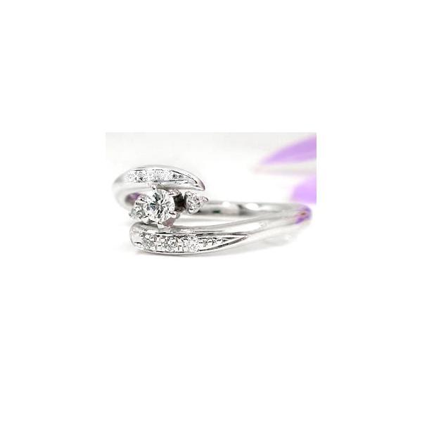 ピンキーリング ホワイトサファイアリング ダイヤモンド プラチナリング;指輪;プラチナリング ダイヤ ダイヤ 9月誕生石 ストレート 宝石