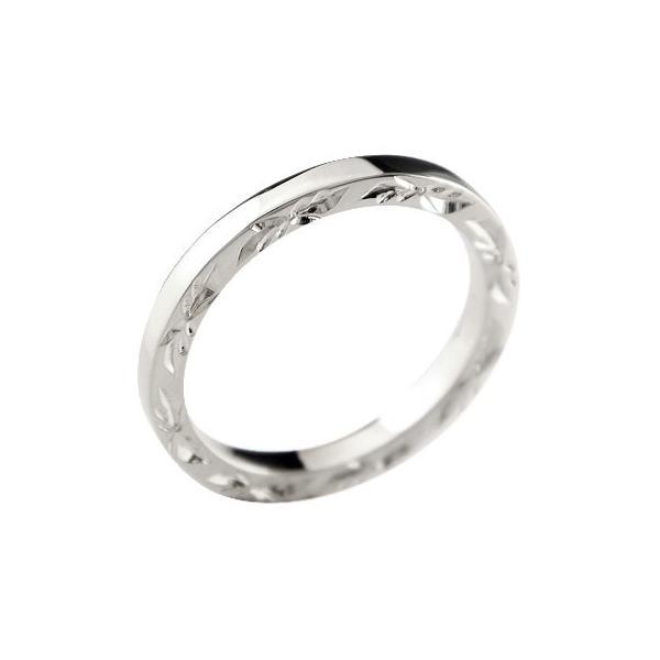 エンゲージリング ハワイアンジュエリー ハードプラチナ950 ハワイアン リング 婚約指輪 pt950 ストレート クリスマス 女性