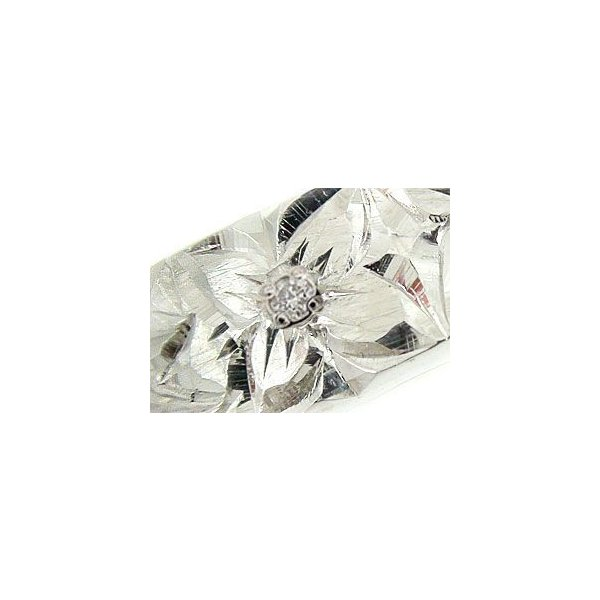 ペアリング 2本セット 結婚指輪 婚約指輪 ハワイアンペアリング ホワイトゴールドk18 ダイヤモンド ダイヤ シンプル 人気  プレゼント 女性 母の日