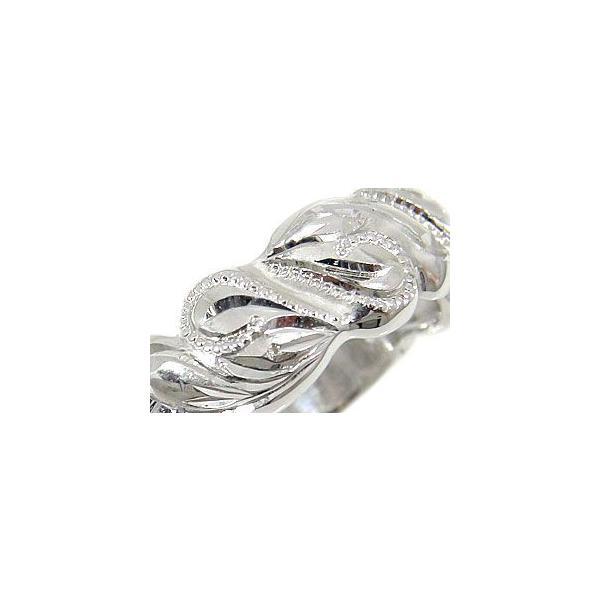 結婚指輪 エンゲージリング プロポーズリング ハワイアンリング 指輪 ホワイトゴールドK18 婚約指輪 ハート シンプル 人気  プレゼント 女性 母の日