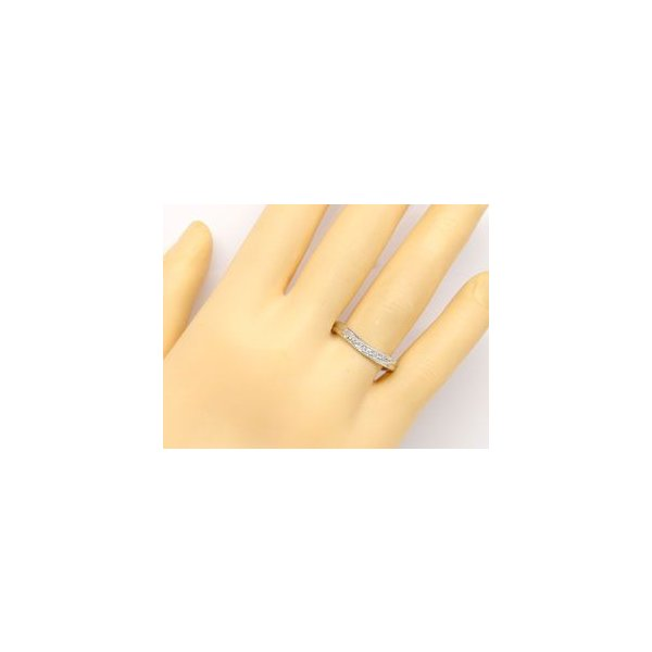 ペアリング ダイヤモンド ピンクサファイア 結婚指輪 ホワイトゴールドk10 ミル打ち ミル 10金 ダイヤ ストレート カップル クリスマス 女性