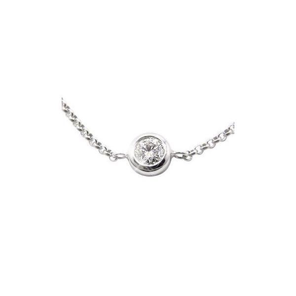 ブレスレット プラチナダイヤモンド 一粒 プラチナ ソリティア チェーン ダイヤ レディース クリスマス 女性